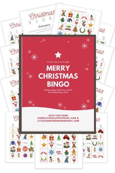 FREE BINGO CARDS PRINTABLE FOR CHRISTMAS